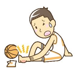 スポーツ中に怪我をした男の子
